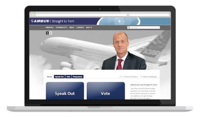 Direkt zu Airbus