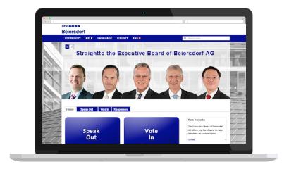 Direkt zu Beiersdorf