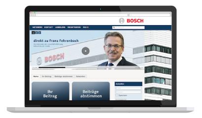 Direkt zu Bosch