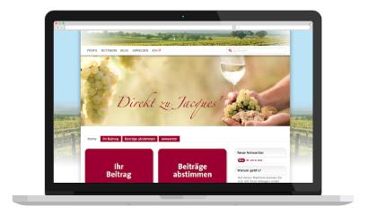 Direkt zu Jacques' Wein-Depot