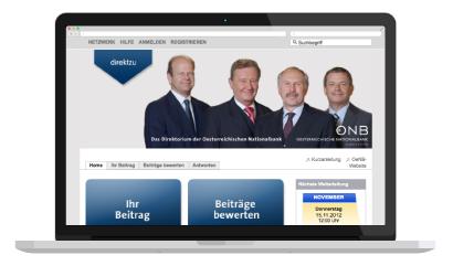 Direkt zu Oesterreichische nationalbank