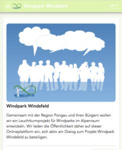 direkt zum windpark